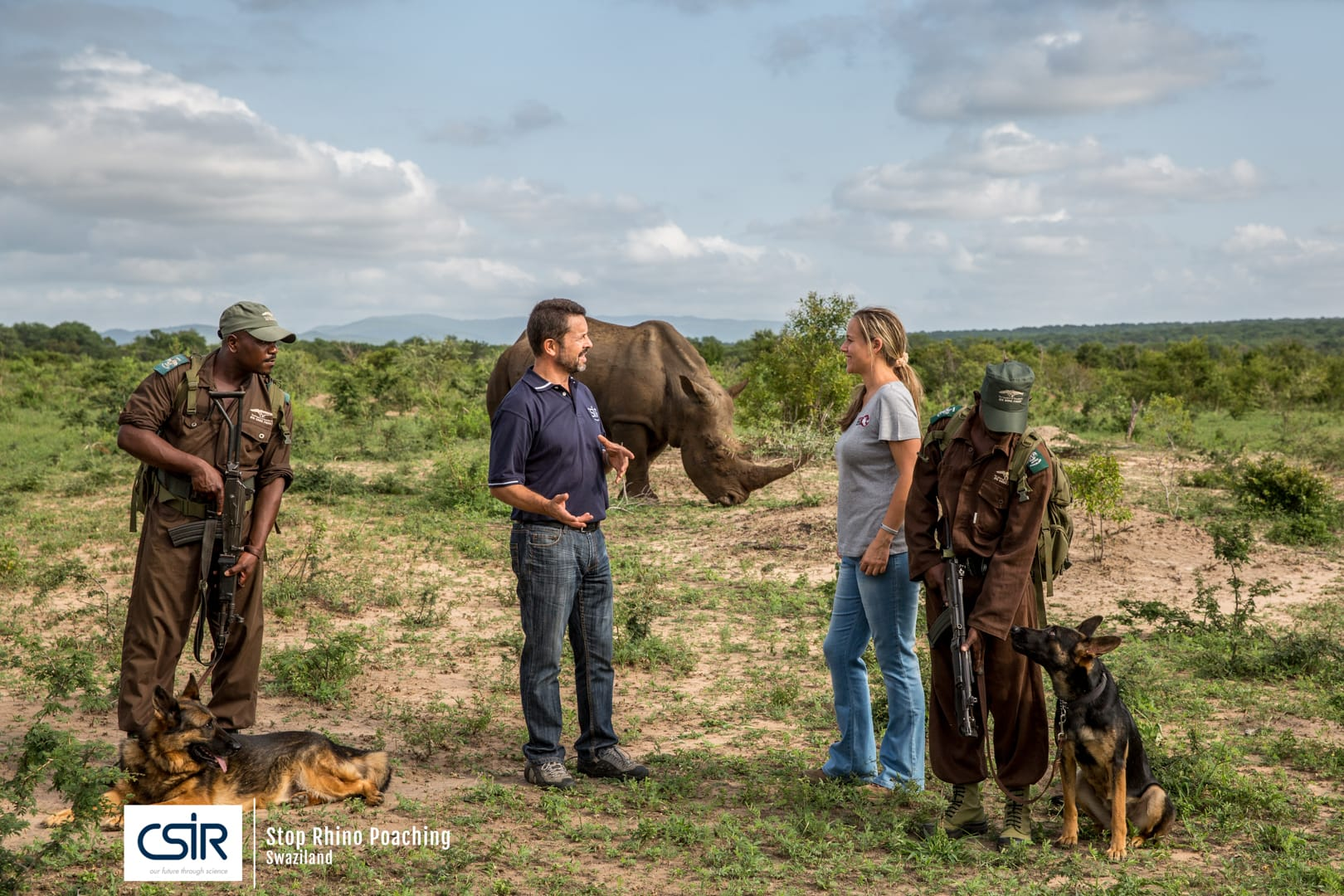 Anti Rhino Poaching in Swaziland