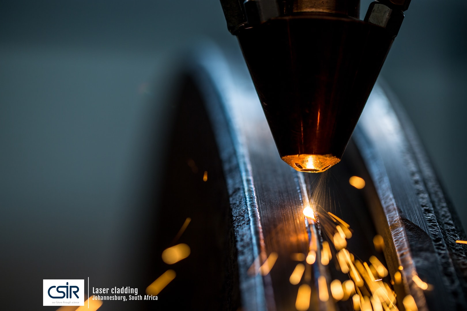 Science Photo of Laser Cladding