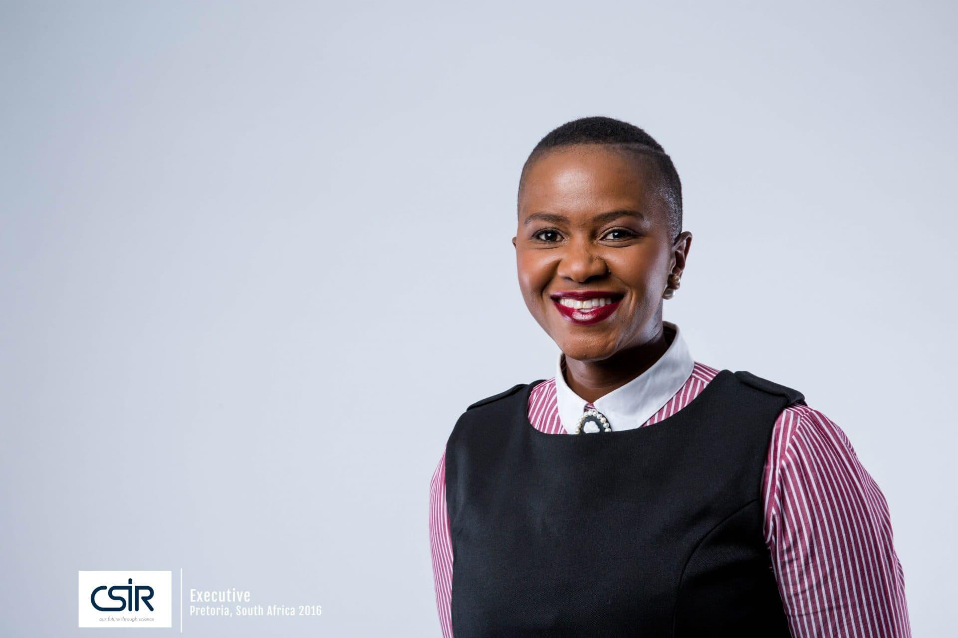 Portrait of  black women executive